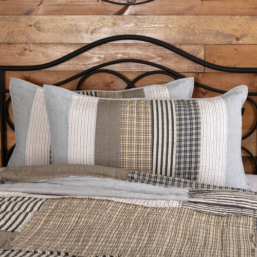 Ashmont King Sham by VHC Brands