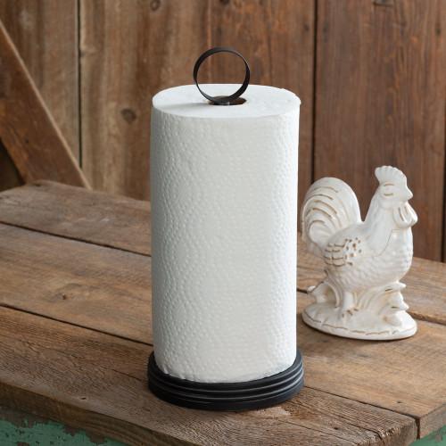 Industrial Ring Paper Towel Holder