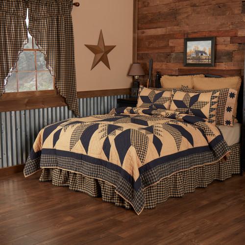 Dakota Star Quilt by VHC Brands