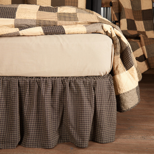 Kettle Grove Bed Skirt by VHC Brands