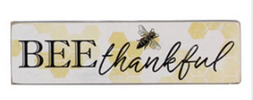 Bee Thankful Bee Block