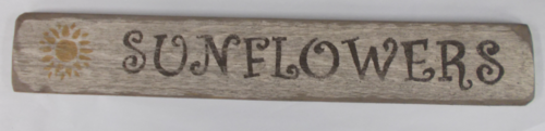 Sunflowers Wooden Sign