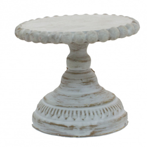 Small White Candle Riser