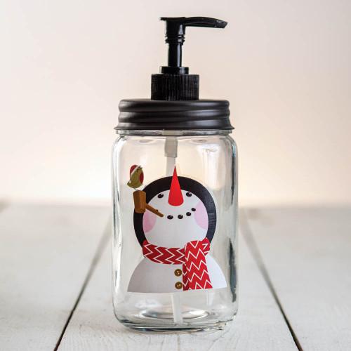 Snowman Soap Dispenser