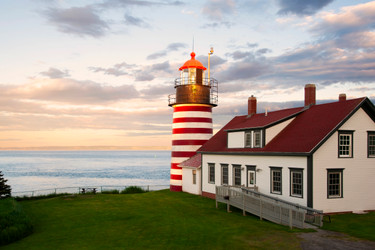 Historic American Lighthouses - West Quoddy Maine