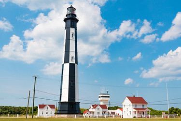 Historic American Lighthouses - Cape Henry Virginia