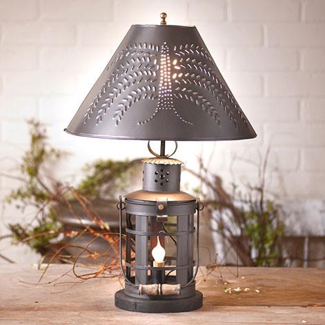 Irvin S Tinware Innkeeper S Lamp Primitive Country