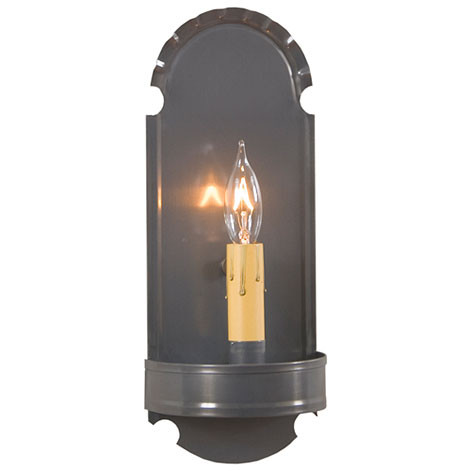 Irvin S Tinware Foot Sconce Country Lighting