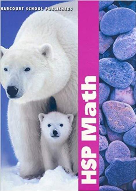 HSP Math: Student Edition Grade 1 Textbook