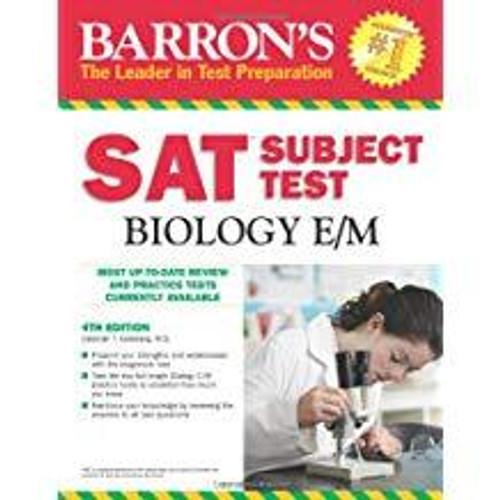 Barron's SAT Subject Test Biology, 4th Edition