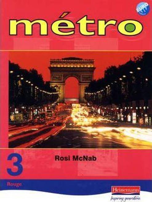 Metro 3 Rouge: Pupil Book