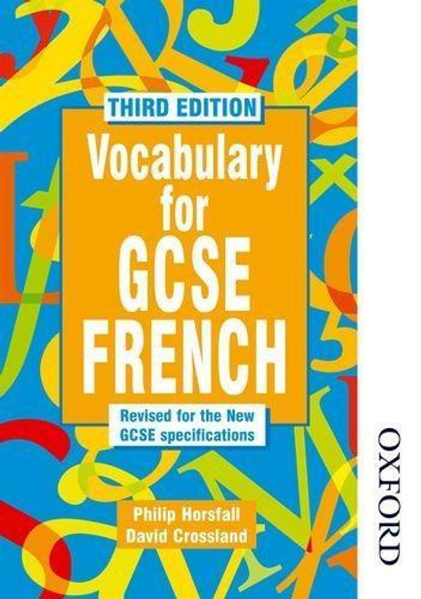 Vocabulary for GCSE French