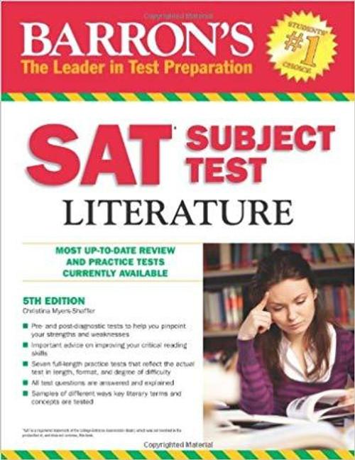 Barron's SAT Subject Test: Literature, 5th Edition