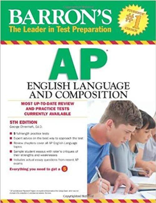 Barron's AP English Language and Composition, 4th Edition