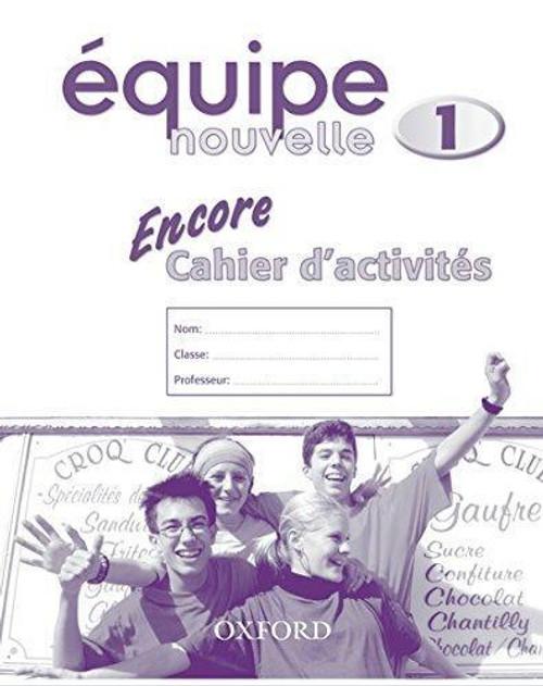 Equipe nouvelle: Part 1: Encore Workbook