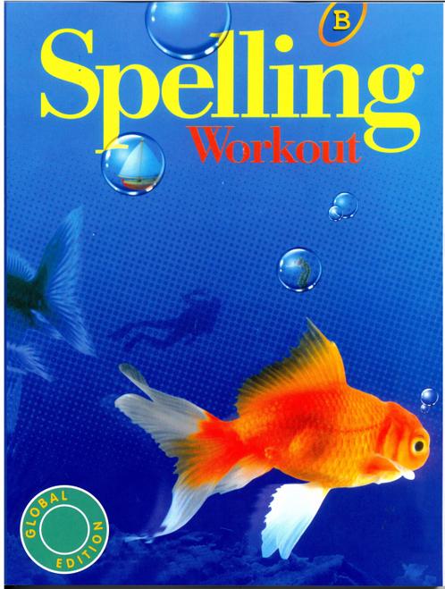 Modern Curriculum Press Spelling Workout Level B