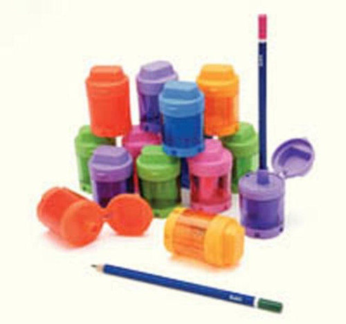 Sharpeners with lids (1 hole)