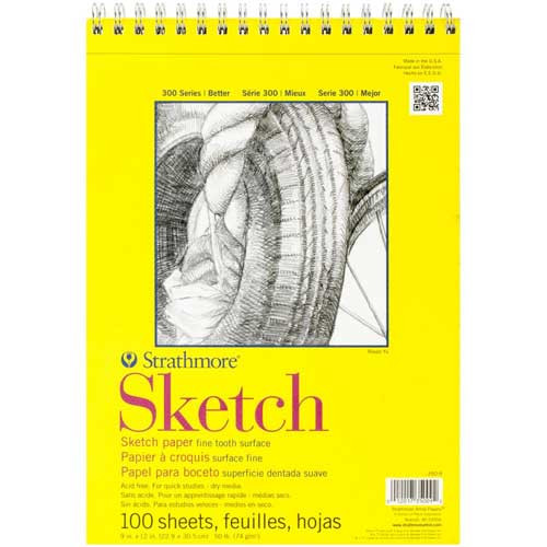 Sketch Pad (spiral) 9x12