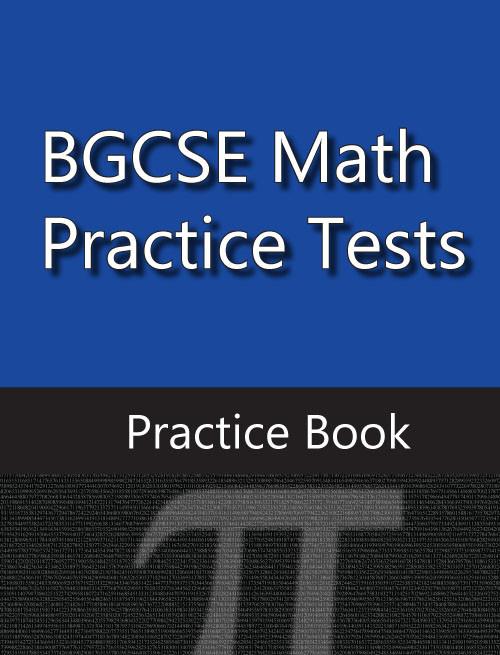 BGCSE Math Practice Book