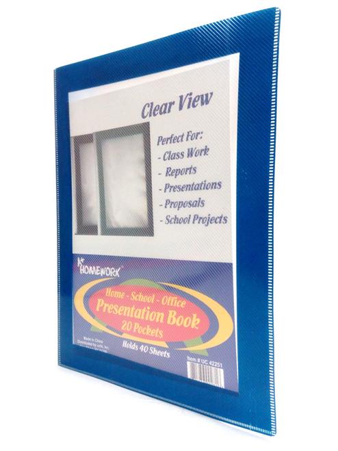 Clearview Presentation Folder