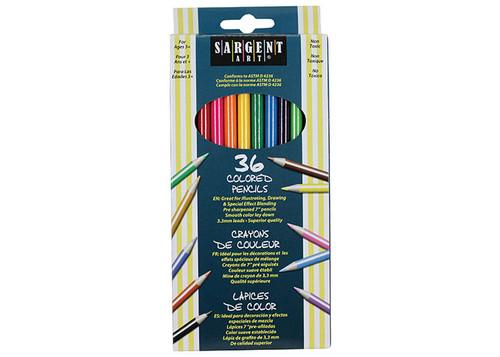 Sargent Art coloured pencils 36 pk