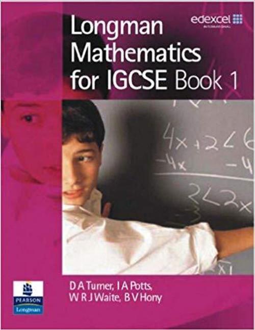 Longman Mathematics for IGCSE: Book 1