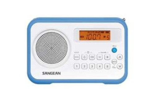 Sangean PRD18BL Digital Tuning Portable Radio - Blue