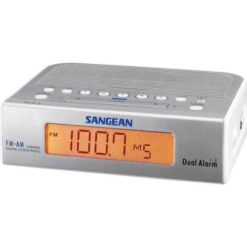 Sangean FM AM Clock Radio