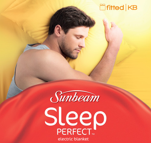 Sunbeam BL5171 Sleep Perfect Fitted King Electric Blanket - Homezone Store Only