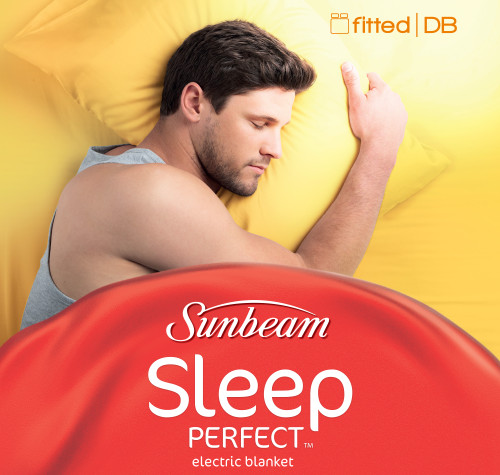 Sunbeam Sleep Perfect™ Double Bed Fitted Heated Blanket - Clearance Model