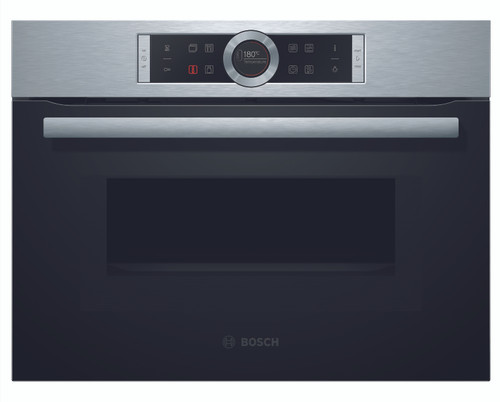Bosch Stainless Steel Compact Oven with Microwave