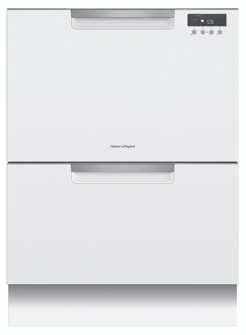 Fisher & Paykel Double DishDrawer- White