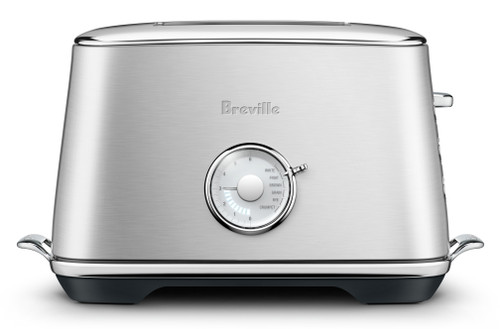 Breville Luxe 2 Slice Silver Toaster