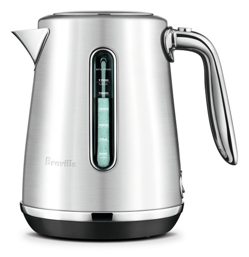 Breville Soft Top Luxe Kettle Silver