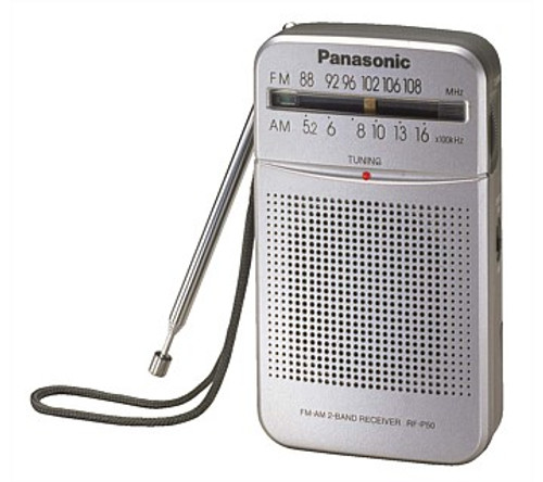 Panasonic RFP50GCS Pocket Radio