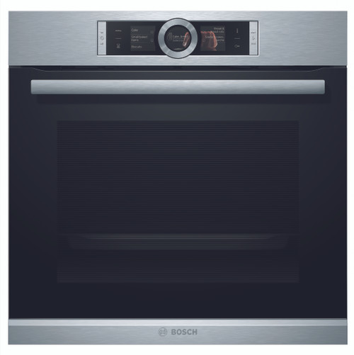Bosch Pyrolytic Stainless Steel Built-In Oven - Display Model Only