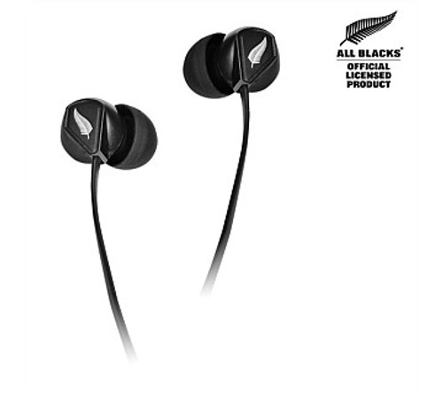iDance All Blacks Slam Earbuds