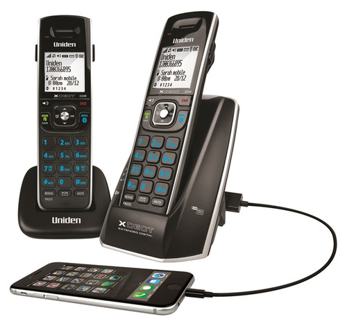 Uniden Cordless Phone Twin Pack - XDECT8315+1