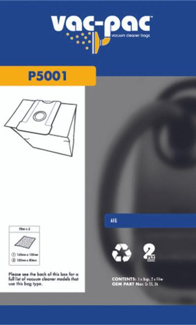 Vac-Pac Vacuum Cleaner Bags - P5001