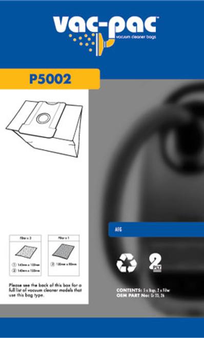Vac-Pac Vacuum Cleaner Bags - P5002