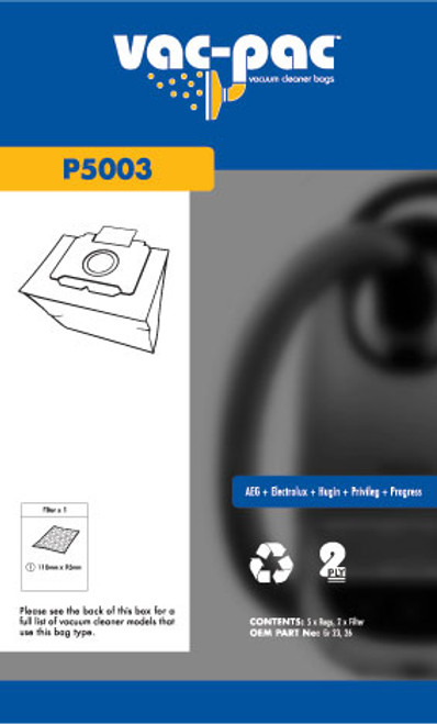 Vac-Pac Vacuum Cleaner Bags - P5003
