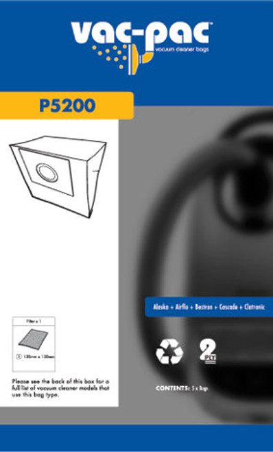 Vac-Pac Vacuum Cleaner Bags - P5200