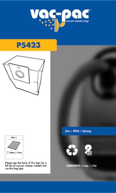 Vac-Pac Vacuum Cleaner Bags - P5423