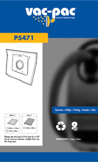 Vac-Pac Vacuum Cleaner Bags - P5471