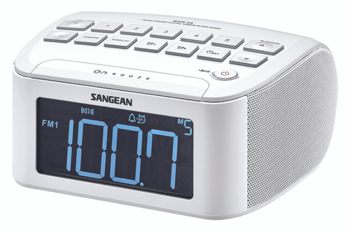 Sangean AM FM Alarm Clock Radio