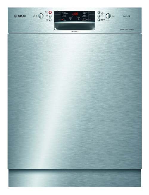 Bosch Built-Under Stainless Steel Dishwasher - Serie 6