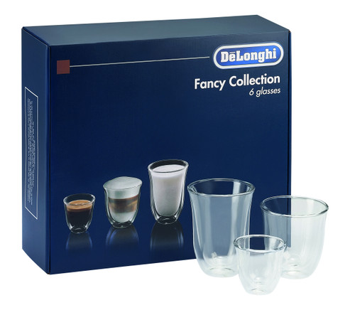 Delonghi Fancy Collection Glasses Set