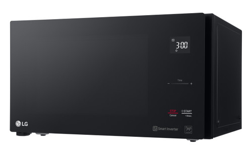 LG 25L Smart Black Inverter Microwave