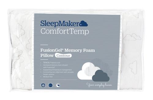 SleepMaker FusionGel Pillow Contoured