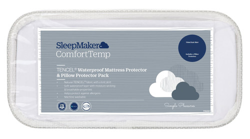 SleepMaker Mattress and Pillow Protector Set Super King